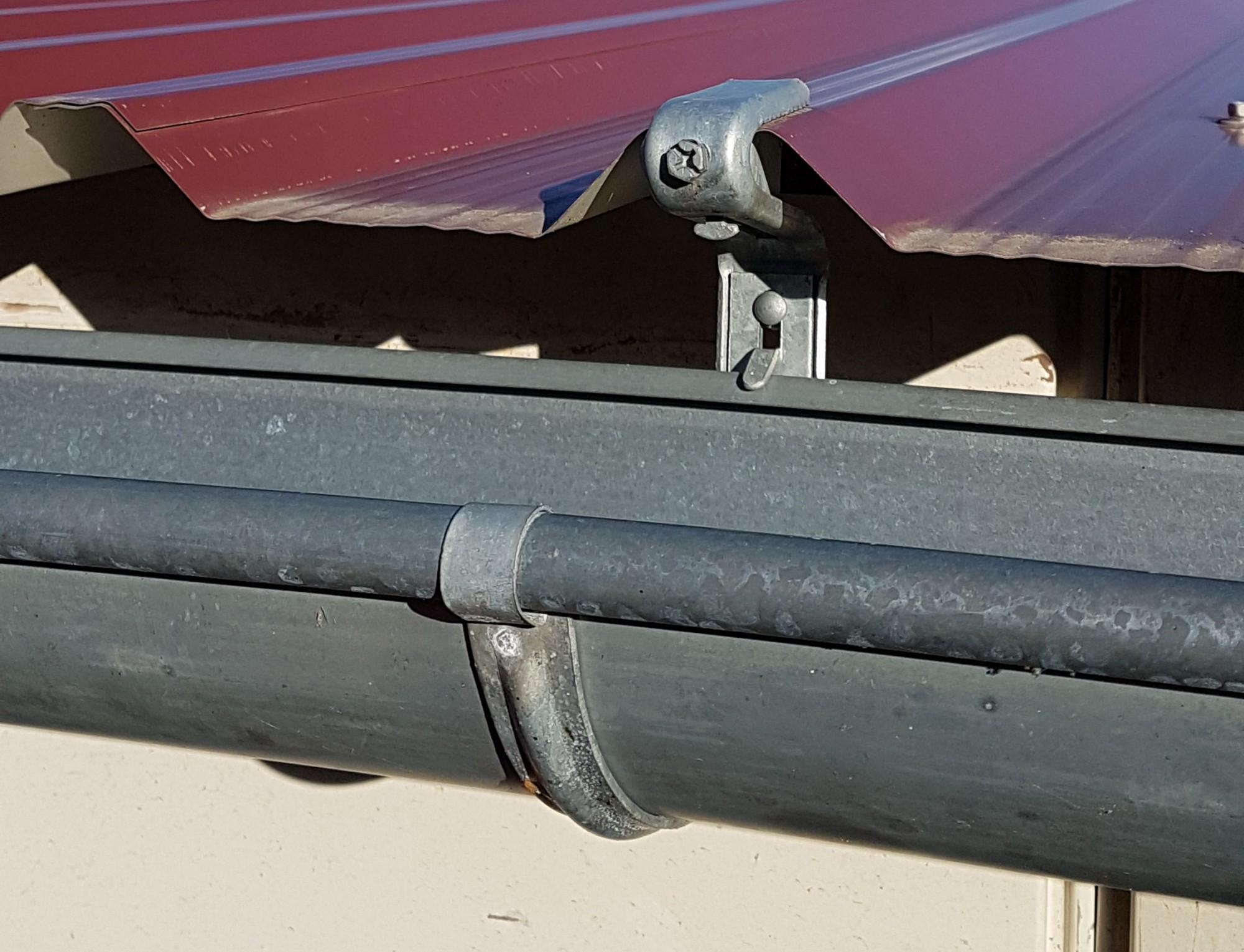25st verz rinnenhalter trapezblech wellplatten 6 tlg 333 dachrinne und fallrohre rinnenhalter. Black Bedroom Furniture Sets. Home Design Ideas