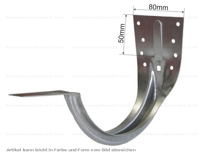 verzinkt stirnbrettrinneneisen rinnenhalter 7 tlg 280 dachrinne und fallrohre rinnenhalter verzinkt. Black Bedroom Furniture Sets. Home Design Ideas