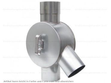 zink fallrohr wasserverteiler wasserweiche d 120mm. Black Bedroom Furniture Sets. Home Design Ideas